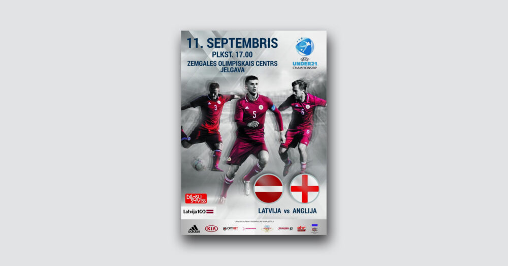 UEFA: Latvia vs England
